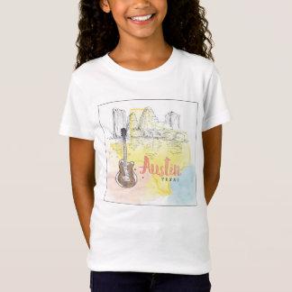Austin,Texas | Watercolor Sketch T-Shirt