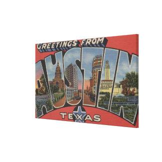 Austin, TexasLarge Letter ScenesAustin, TX Canvas Print