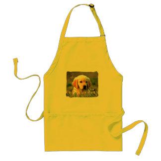 Austin The Golden Labrador Standard Apron