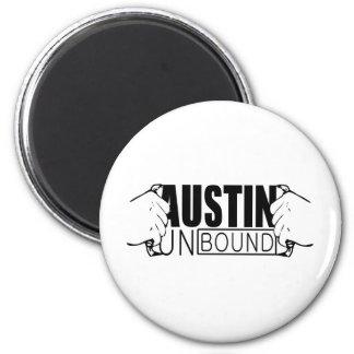 Austin Unbound - Logo Magnet