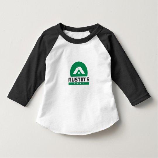 Austin's Army Kid Ringer Shirt