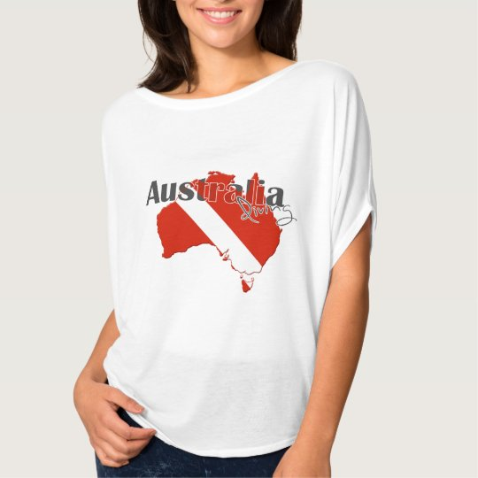Austrailia Scuba Diving Women's T-Shirt