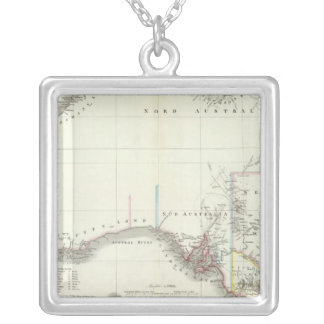 Austral-Continent Silver Plated Necklace