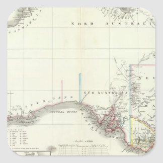 Austral-Continent Sticker