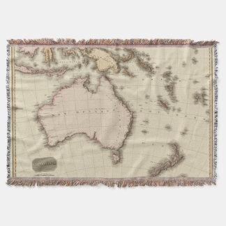 Australasia Throw Blanket