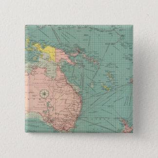 Australasian, Polynesian ports 15 Cm Square Badge