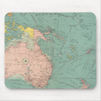Australasian, Polynesian ports Mouse Mat