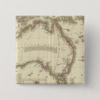 Australia 10 15 cm square badge