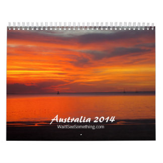 Australia 2014 wall calendar
