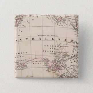 Australia 3 15 cm square badge