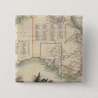 Australia 5 15 cm square badge