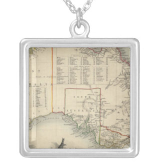 Australia 5 silver plated necklace