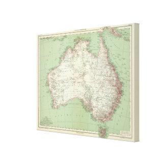 Australia 6 canvas print