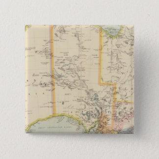 Australia 7 15 cm square badge