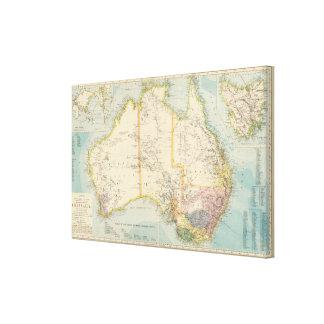 Australia 7 canvas print