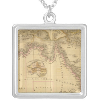 Australia 8 silver plated necklace