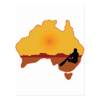 Australia Aboriginal Postcard