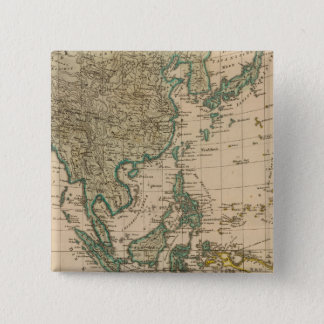 Australia and Asia 15 Cm Square Badge