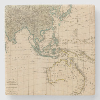 Australia and Asia Stone Coaster