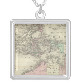 Australia and East Indies Silver Plated Necklace