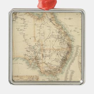 Australia and New Zealand Christmas Ornament