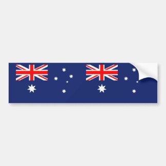 Australia Aussie Australian flag Bumper Sticker