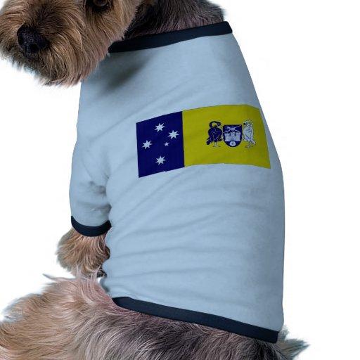 Australia_Australian Capital Territory Flag Doggie T-shirt