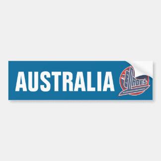 Australia Blades Bumper Sticker