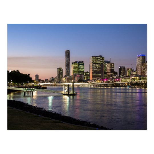 Australia - Brisbane - View Left Postcard