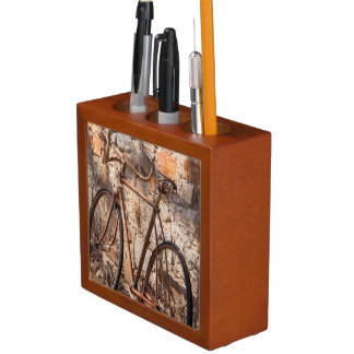 Australia, Clare Valley, Sevenhill, old bicycle Desk Organiser