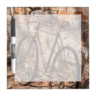 Australia, Clare Valley, Sevenhill, old bicycle Dry Erase Board