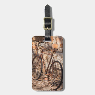 Australia, Clare Valley, Sevenhill, old bicycle Luggage Tag