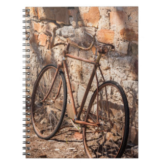 Australia, Clare Valley, Sevenhill, old bicycle Notebook
