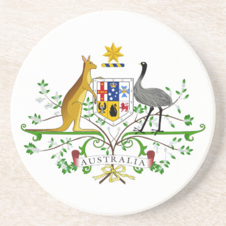 Australia Coat of Arms Coaster