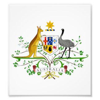Australia Coat Of Arms Photograph