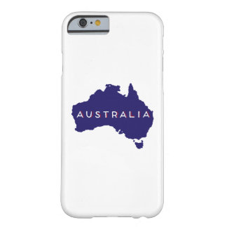 Australia Country Silhouette Barely There iPhone 6 Case