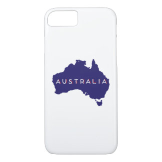 Australia Country Silhouette iPhone 8/7 Case