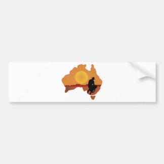 Australia Cowboy Bumper Stickers