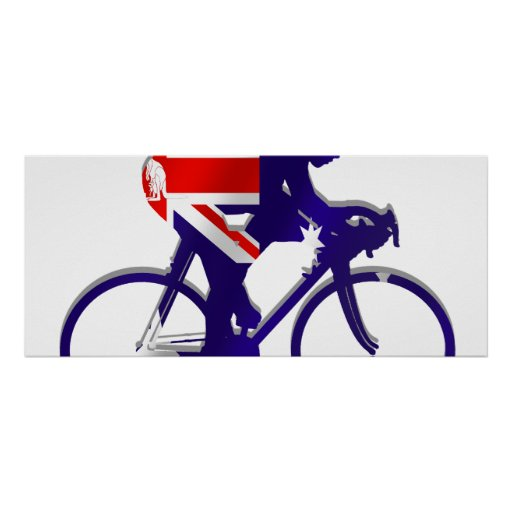 Australia Cycling gifts for Aussie Bicycle fans Poster