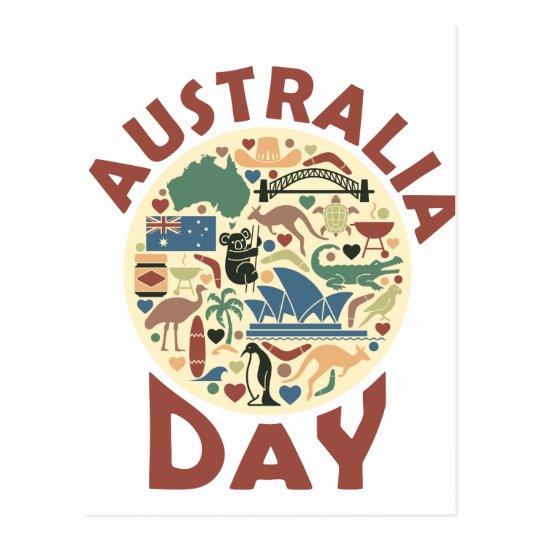 Australia Day- Appreciation Day Postcard