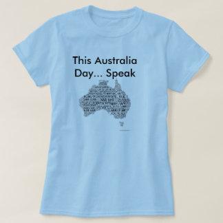 Australia Day - Indigenous Languages T-Shirt