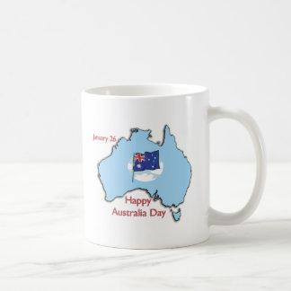 Australia Day January 26 Basic White Mug