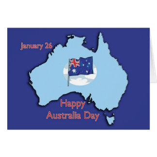 Australia Day January 26 Card