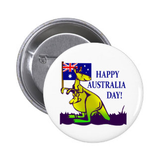 AUSTRALIA DAY T-Shirts and Gifts! 6 Cm Round Badge