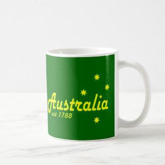 Australia Est 1788 Basic White Mug