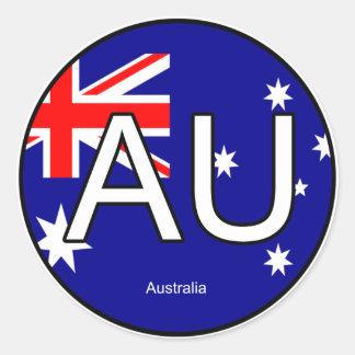 Australia Euro Sticker