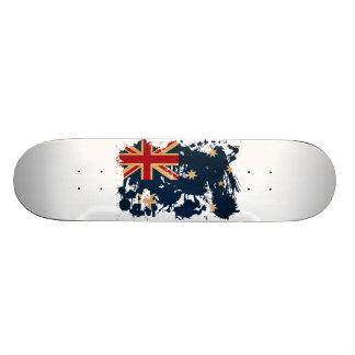 Australia Flag 20.6 Cm Skateboard Deck
