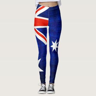 Australia Flag #2 Leggings