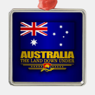 Australia Flag 3 Christmas Ornament