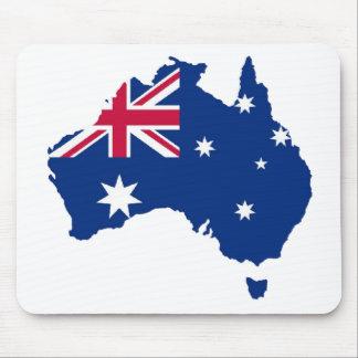 Australia flag Australia styles Design Mouse Mat